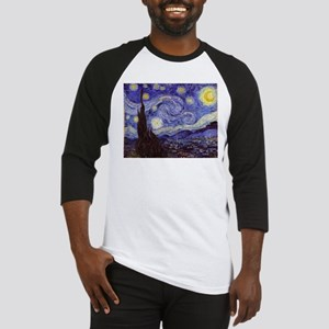 Van Gogh Starry Night Baseball Jersey