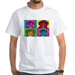 Schnoodle White T-Shirt