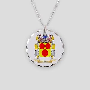 Gavin Necklace Circle Charm