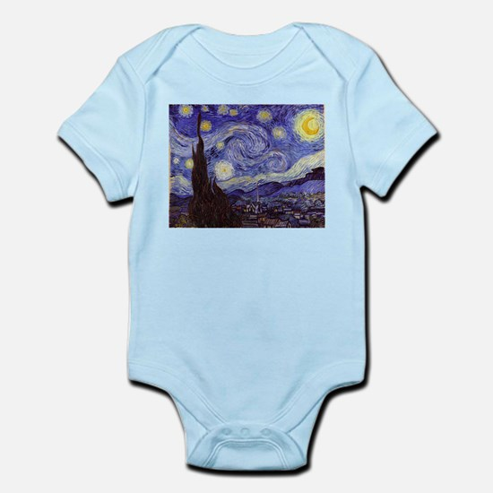 Van Gogh Starry Night Body Suit