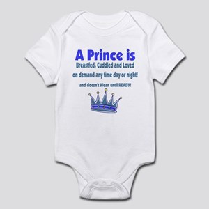 A Prince is 2 Infant Bodysuit