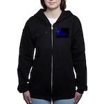 Dephts Women's Zip Hoodie