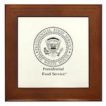 Presidential Food Service™ Framed Tile