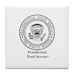 Presidential Food Service Tile Coaster