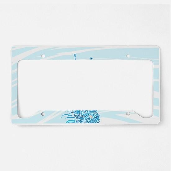 Seahorse License Plate Holder