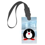 Little Fat Penguin Luggage Tag
