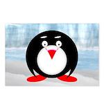 Little Fat Penguin Postcards (Package of 8)