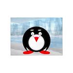 Little Fat Penguin 5'x7'Area Rug