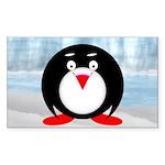 Little Fat Penguin Sticker