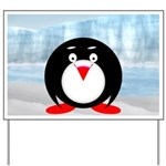 Little Fat Penguin Yard Sign