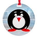 Little Fat Penguin Ornament