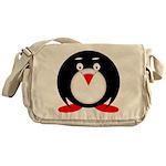 Little Fat Penguin Messenger Bag