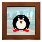 Little Fat Penguin Framed Tile