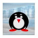 Little Fat Penguin Tile Coaster
