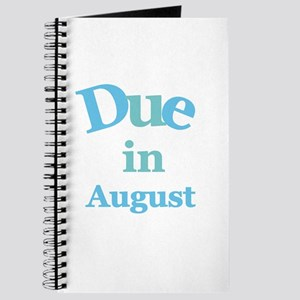 Blue Due in August Journal