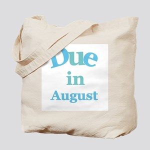 Blue Due in August Tote Bag