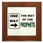 Way of the Prophets Framed Tile