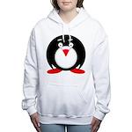 Little Fat Penguin Women's Hooded Sweatshirt