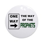 Way of the Prophets Ornament (Round)