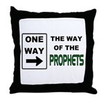 Way of the Prophets Throw Pillow