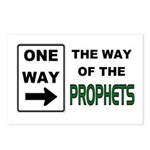 Way of the Prophets Postcards (Package of 8)