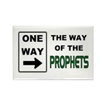 Way of the Prophets Rectangle Magnet