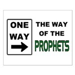 Way of the Prophets Small Poster