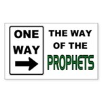 Way of the Prophets Rectangle Sticker