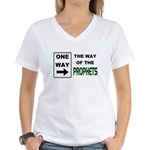 Way of the Prophets Women's V-Neck T-Shirt