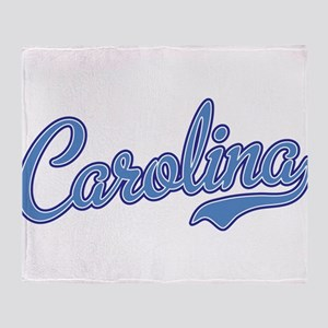 Carolina Blue Throw Blanket