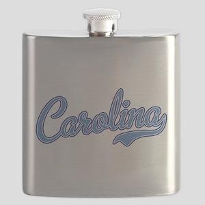 Carolina Blue Flask