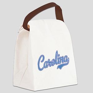 Carolina Blue Canvas Lunch Bag
