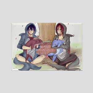 Free! ISC: Rin & Haru Rectangle Magnet