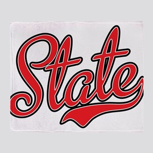 State Throw Blanket