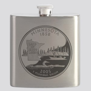 Minnesota Quarter Flask