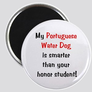 My Portuguese Water Dog is smarter... Magnet