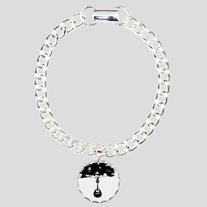 Mandolin-2 Charm Bracelet, One Charm