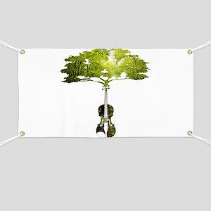 Violin tree Banner