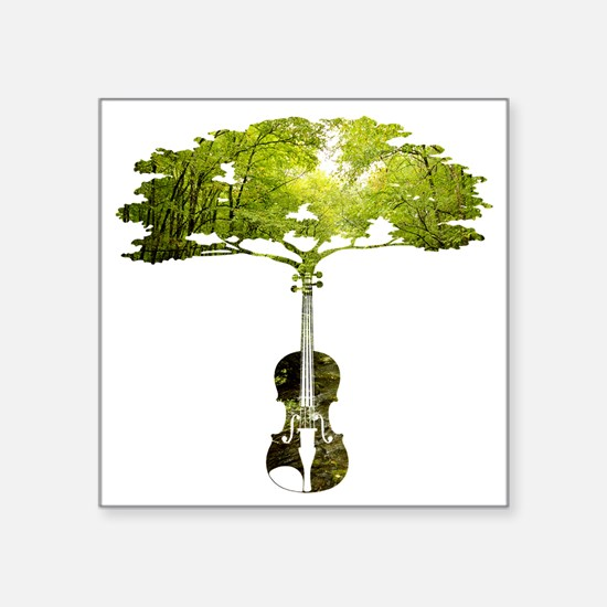 Violin tree Sticker