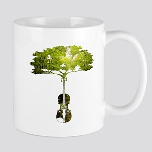 Violin tree Mugs