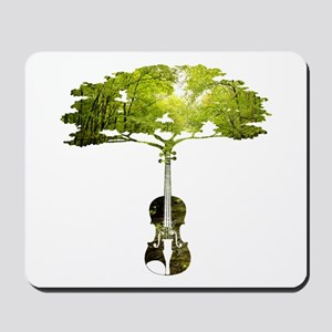 Violin tree Mousepad