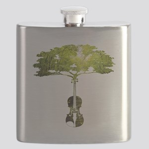 Violin tree Flask