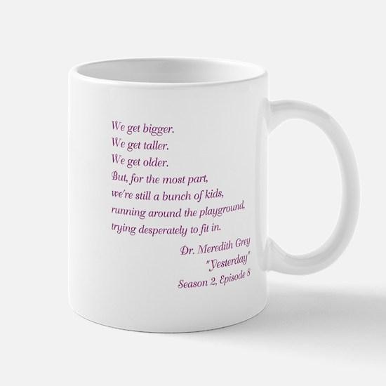 YESTERDAY Mugs