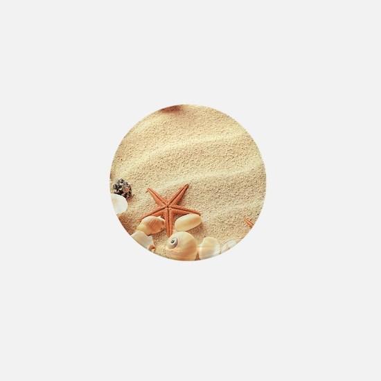 Seashells Mini Button