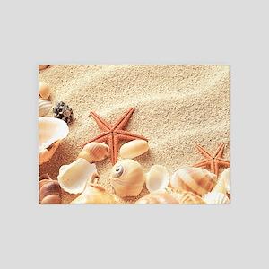 Seashells 5'x7'Area Rug