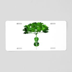 Cello tree-2 Aluminum License Plate