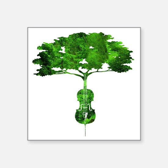 Cello tree-2 Sticker