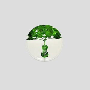 Cello tree-2 Mini Button