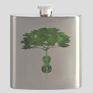 Cello tree-2 Flask