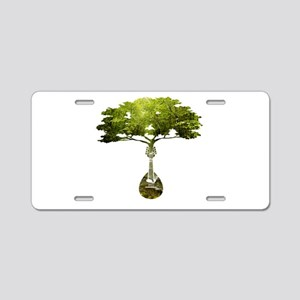 Mandolin Tree Aluminum License Plate